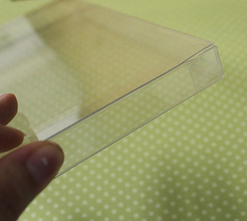 Flexible Clear Mailing Box for Cards image 0
