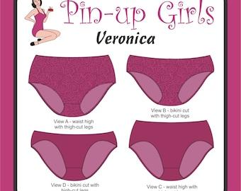 VERONICA PANTY PATTERN  by Pin Up Girls