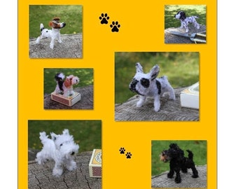 Creative with pipe cleaners MINIATURE DOGS
