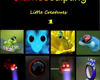 Step by step flame work pdf e-Book about sculpting little creatures in glass.