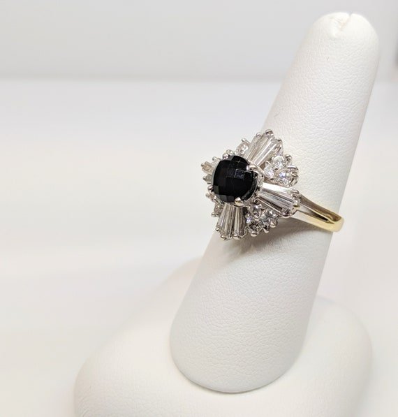 Mid Century Cocktail Ring