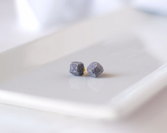 Granite Geometric Stud Earrings - Geo Earrings - Simple - Minimalist - Modern - Lightweight