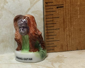 Tiny Musk Ox ZOO ANIMALS  - French Feve Feves Figurines Miniatures N280