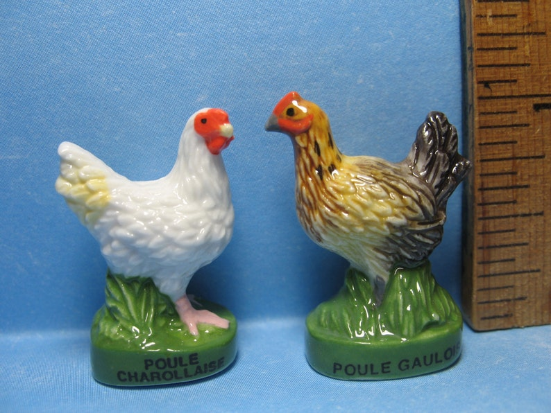 Rooster Bird  Miniature Dollhouse Doll House Picture