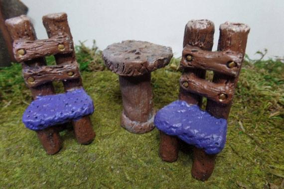 Mobilier ensemble fée jardin Miniature accessoire Terrarium Miniature  ensemble jardinage maison de poupée mobilier jardin intérieur contenant ...