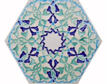 Moroccan Tiles - Kitchen Tiles - Arabesque Tiles - Bathroom Tiles - Backsplash Tiles - Stoneware Tiles - Patio Tiles - Hexagon Tiles