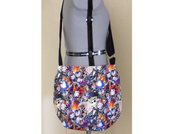 Cross Body Bag, Summer Bag, Adjustable Strap