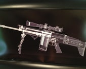 SCAR 17 rifle CAT scan gun pri...