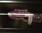 FN FS2000 rifle CAT scan gun print - ready to frame