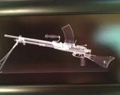 Jap Type 96 CAT scan gun print - ready to frame