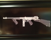 Tommy Gun  CAT scan gun print ...