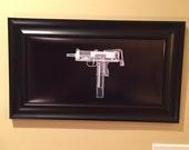 MAC 11 submachine gun print...