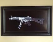MP5 Submachine gun CAT scan gu...