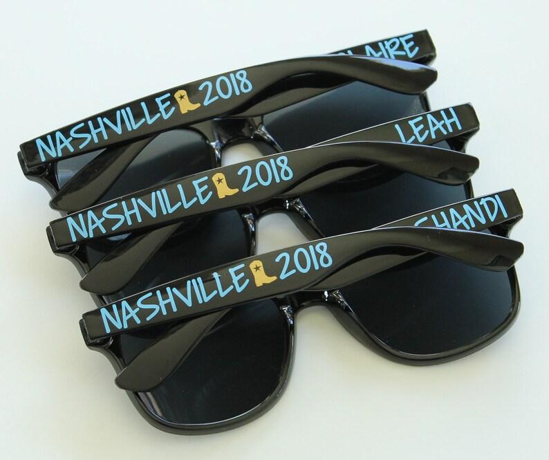 4e5f82dd21 Personalized Sunglasses Bridal Party Sunglasses Bachelorette
