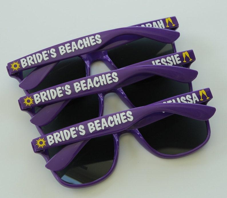 Bachelorette Party Favors Bachelorette Sunglasses Bridal Party Sunglasses Personalized Sunglasses Wedding Sunglasses