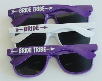 Bride Tribe Sunglasses, Personalized Sunglasses, Bachelorette Gifts, Bachelorette Sunglasses, Destination Wedding, Bridal Party Sunglasses