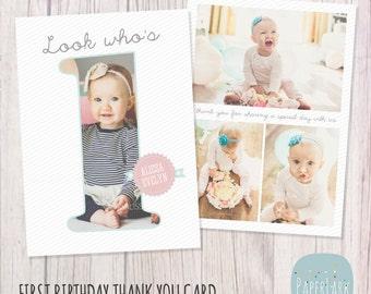 Photoshop Template Birthday Card Etsy