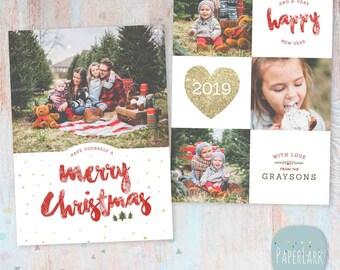 photoshop christmas card templates