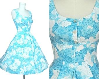 fb1e33751de Vintage 50s Dress~S M