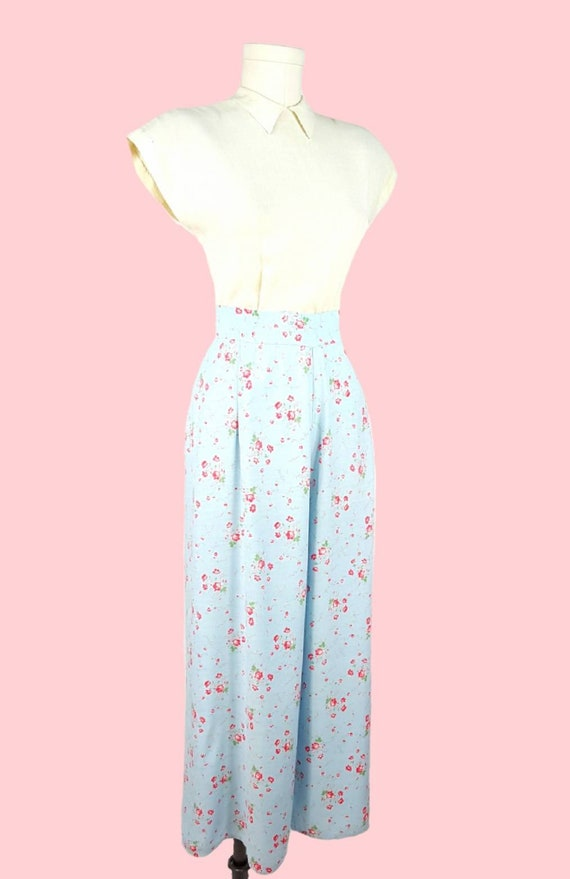 SOLD!! - RARE Vtg 1930s Beach Pajamas M/L ~ Softe… - image 7