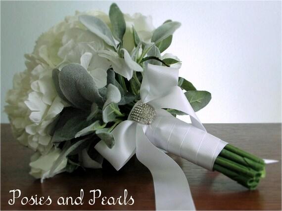Pretty Artificiel Mélangé Rose renoncules liée Posy bouquet de mariage ~ home bouquet