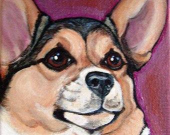 "16"" x 16"" Custom Pet Portrait"