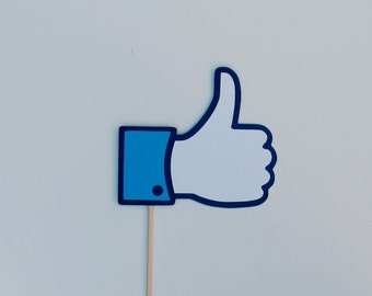 Thumbs Up Photo Booth Prop Sign