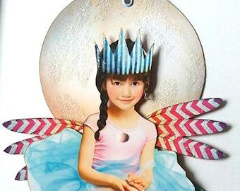 Little One - Whimsical Paper Art Doll