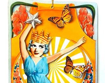 Feel Better Soon Whimsical 3 D Ornament Card