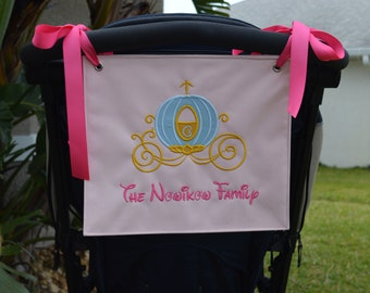 Stroller Spotter Sign with Carriage