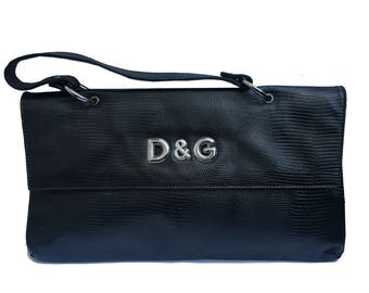 Dolce   Gabbana snake print envelope bag 0ed169bc701f7