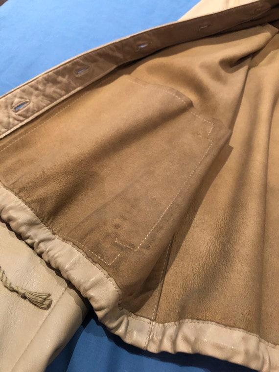 Prada leather shirt jacket - image 5