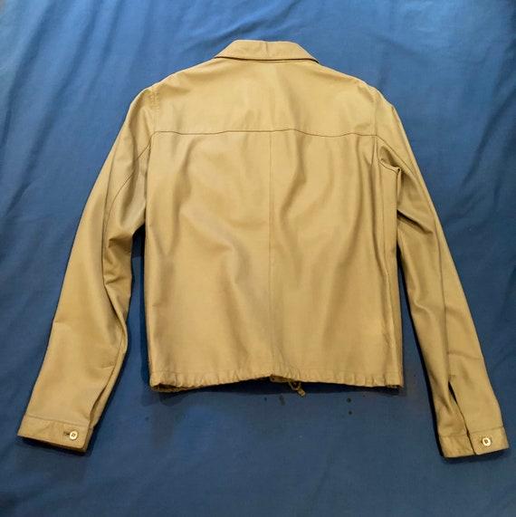 Prada leather shirt jacket - image 2