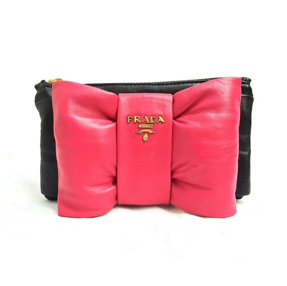 Prada Bow purse bag