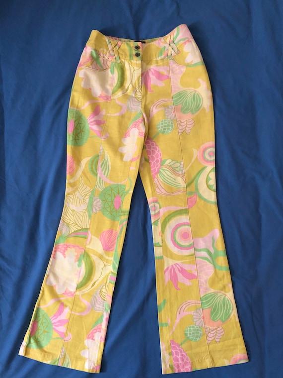 Dolce Gabbana linen trousers