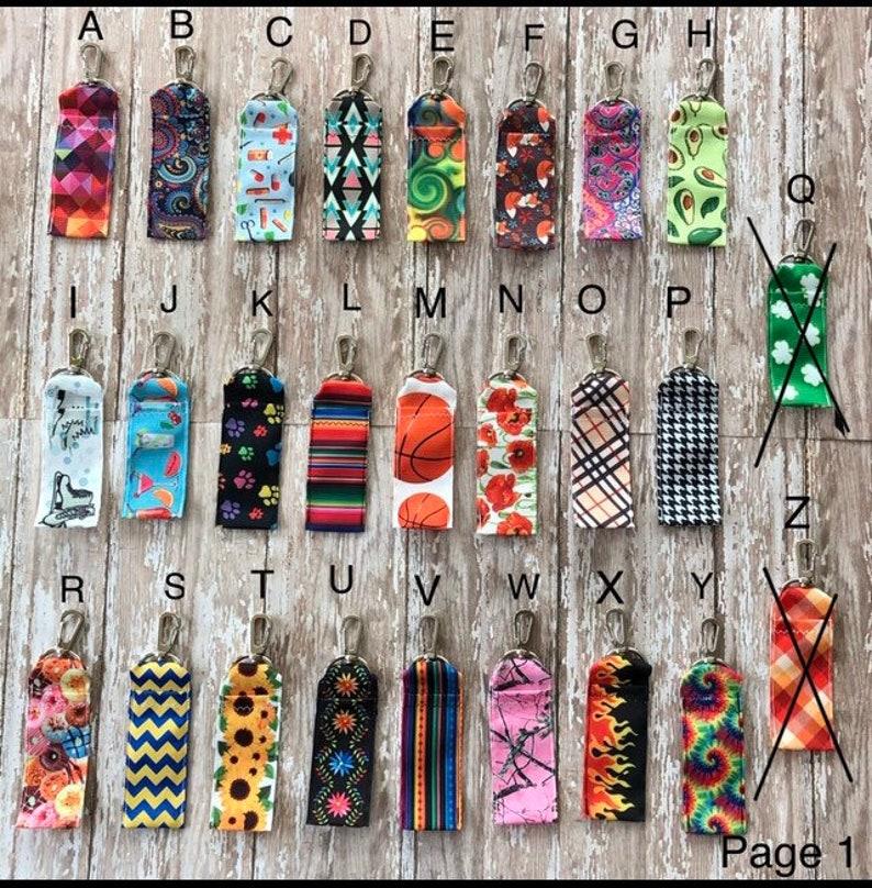 Lip Balm Holder w/ Swivel Clip stocking stuffer wedding image 1