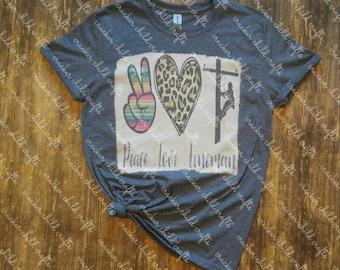 Peace Love Transmission Lineman T shirt-lineman-power lineman-linewife-lineman/'s wife-i love my lineman-lineman/'s girlfriend-linebabe
