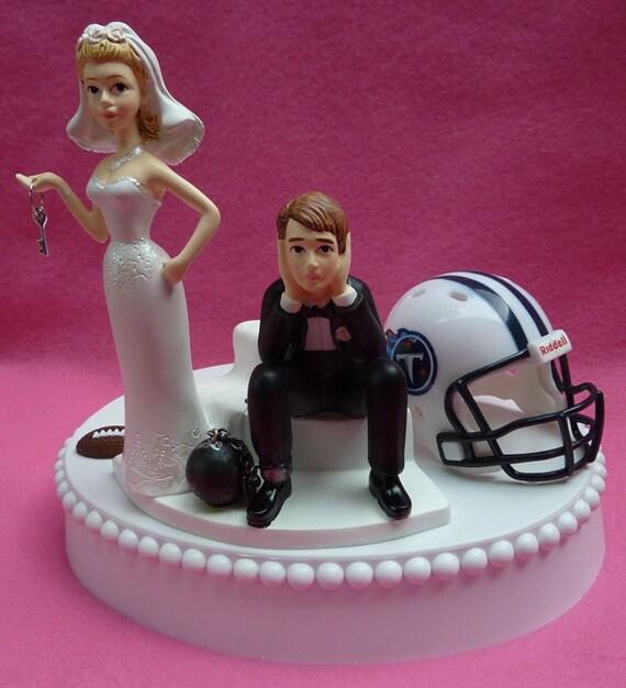 Wedding Cake Topper Los Angeles Dodgers Baseball Themed LA L.A Sports w// Garter