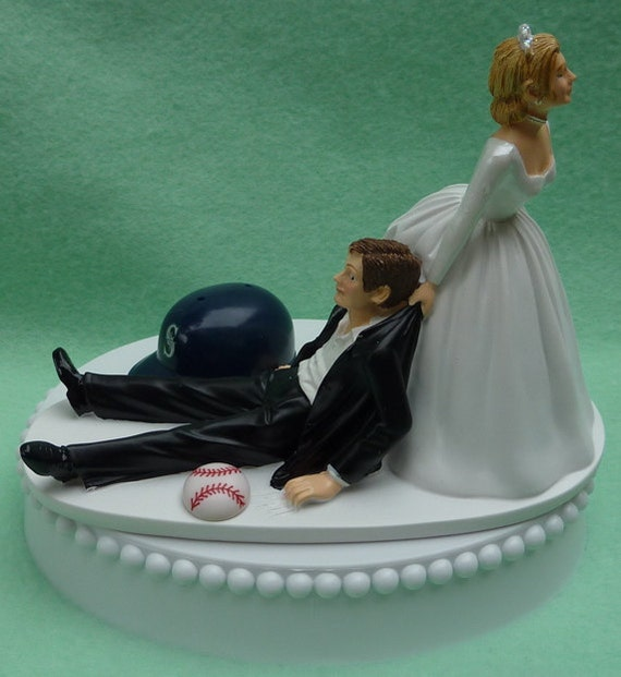 baseball wedding cake toppers canada wedding cake topper seattle mariners ms baseball themed w 11093