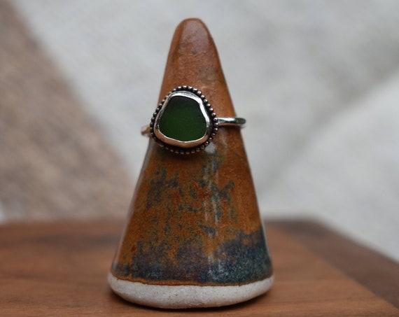 Kauai sea glass ring