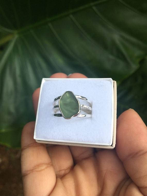 Kaua'i sea glass ring