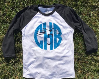 Monogrammed Carolina Panthers Shirt cf3dfa7d9