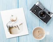 Cupcake Cards: Valentine / Easter / Birthday / Autumn / Thanksgiving / Halloween / Christmas