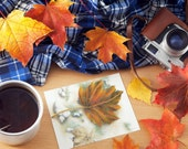 Autumn Maple Leaf Cards & Gift Tags