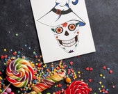 Sugar Skull Cards: Easter / Birthday / Christmas / Valentine / Halloween / Day of the Dead