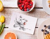 Strawberry Card