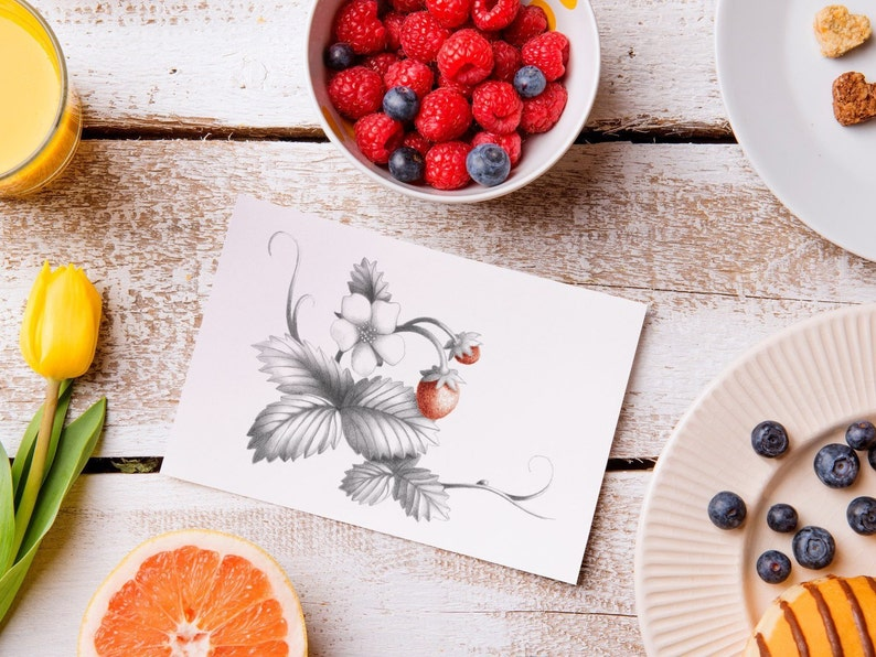 Strawberry Card image 0