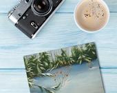 Winter Backyard Card & Matching Gift Tag