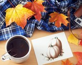 Pumpkin Cards: Thanksgiving / Autumn / Harvest