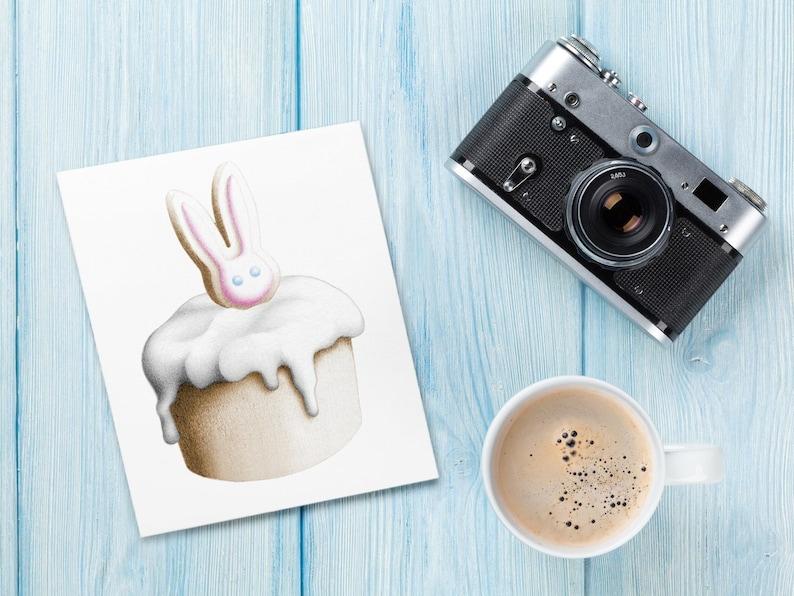 Cupcake Cards: Valentine / Easter / Birthday / Autumn / image 0